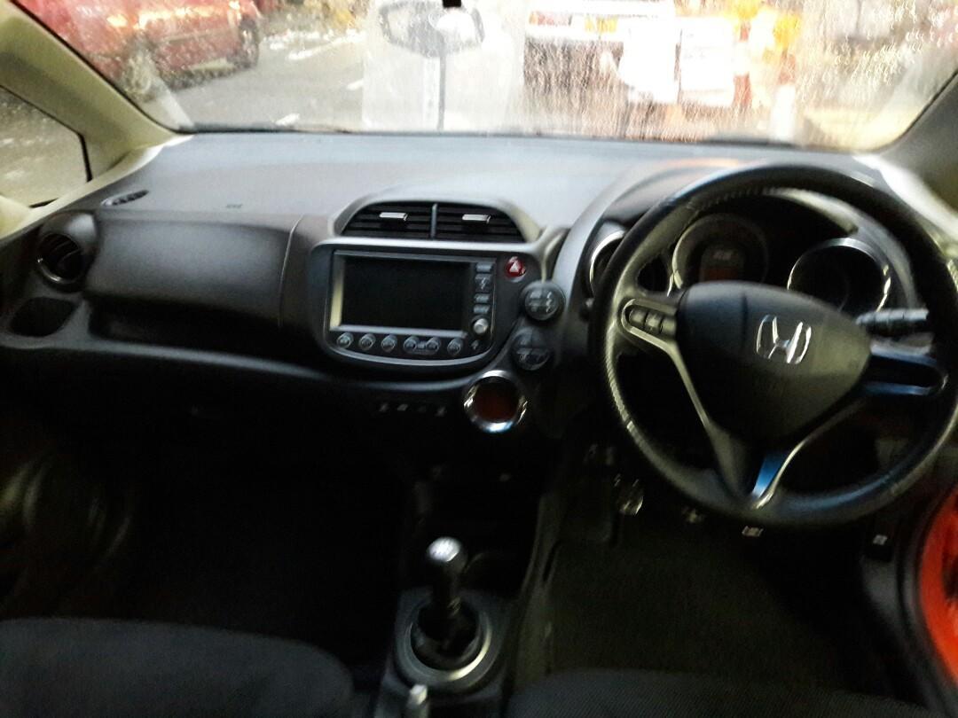 HONDA FIT RS 2012