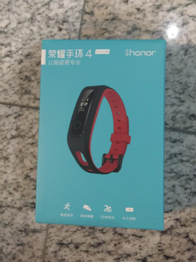 HONOR band 4, Smart watch running edition