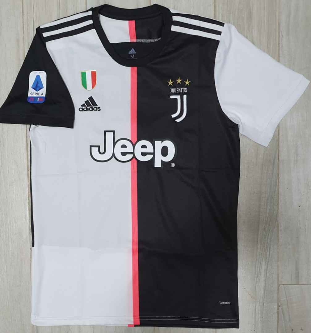 juventus home jersey 19 20 sports sports apparel on carousell carousell