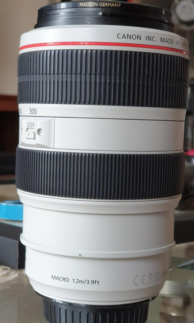 Lensa Canon EF 70-300 f/4-5.6L IS USM
