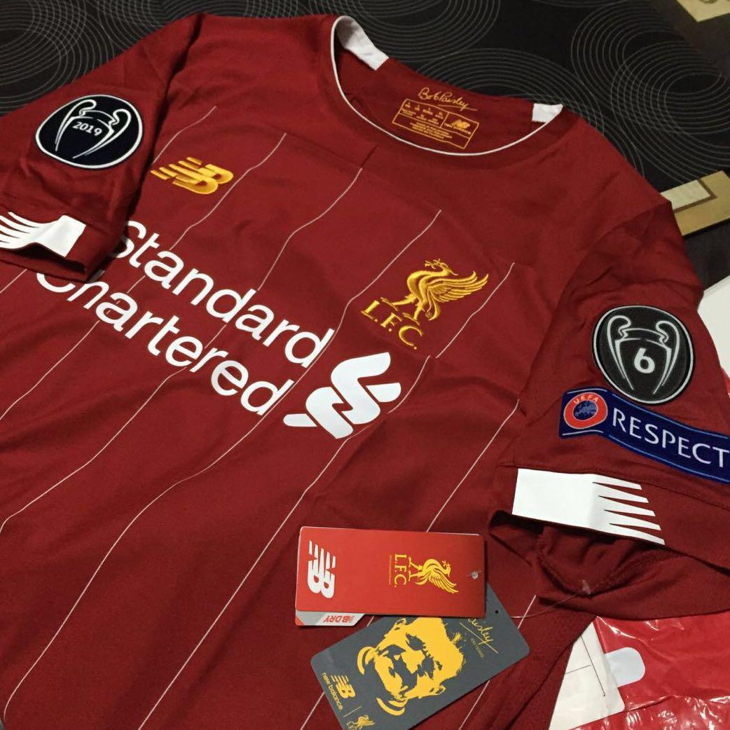 buy online af186 be67c LIVERPOOL FC MENS EUROPEAN HOME SHIRT 19/20 (from Liverpool ...