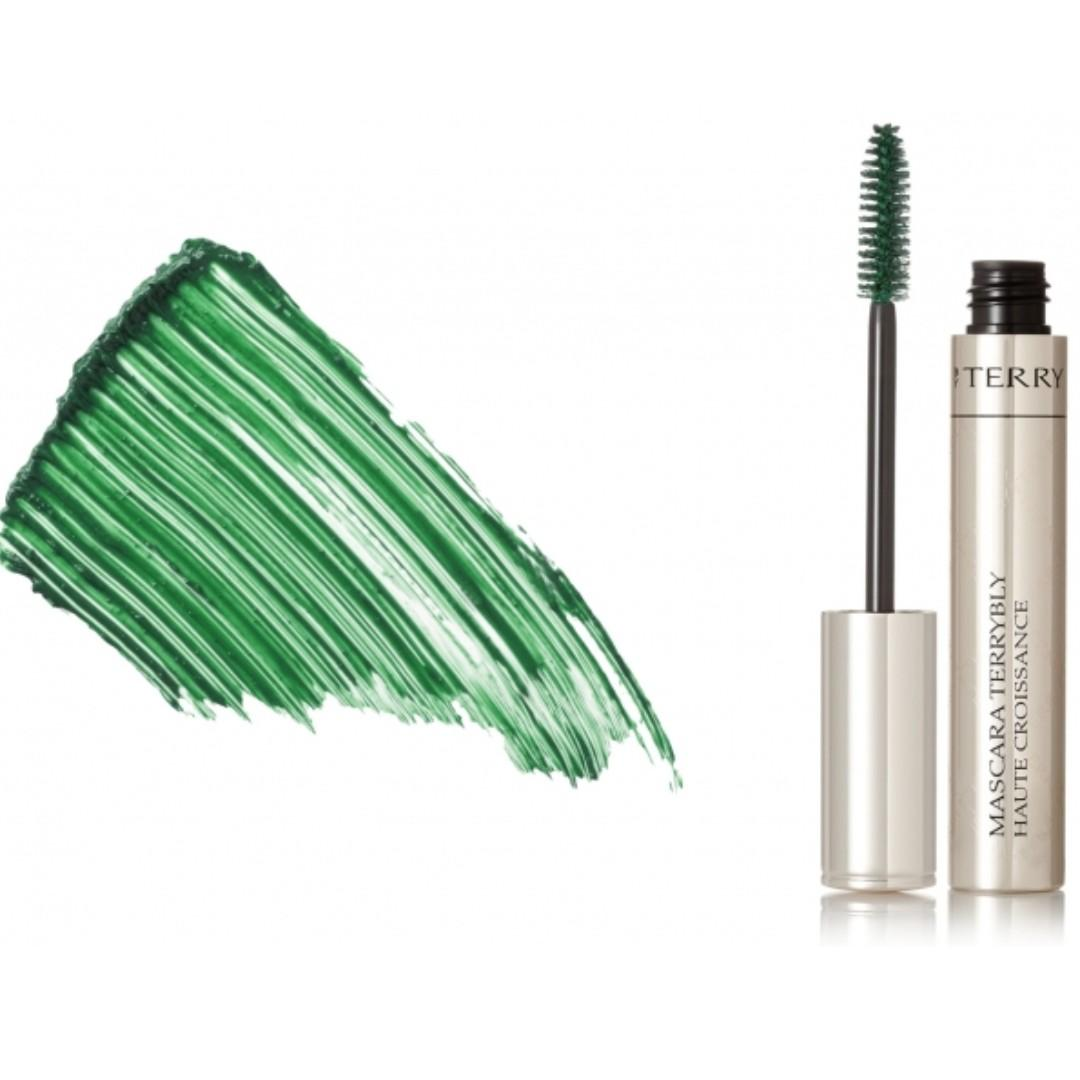 High End MASCARA TERRYBLY | Growth Booster | in Green Galaxy No.9 | BY TERRY