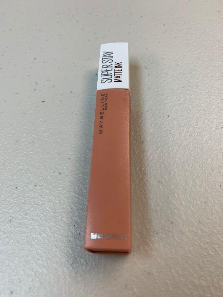 Maybelline Super Stay Matte Ink 超持久霧感液態唇膏