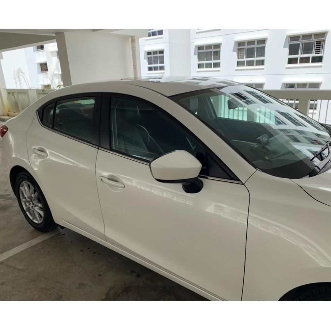 Mazda 3 Skyactiv for Rent