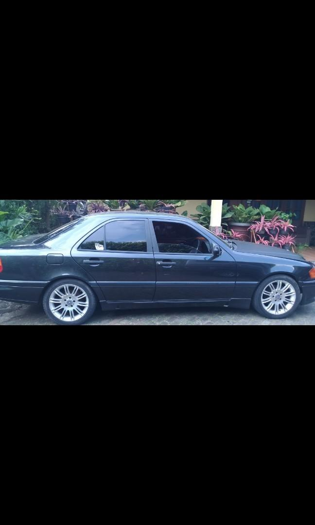 "Mercy C180 Hitam 1994 Manual VR""17 Jok.Klt panel wood Stnk off 2015 negoo"