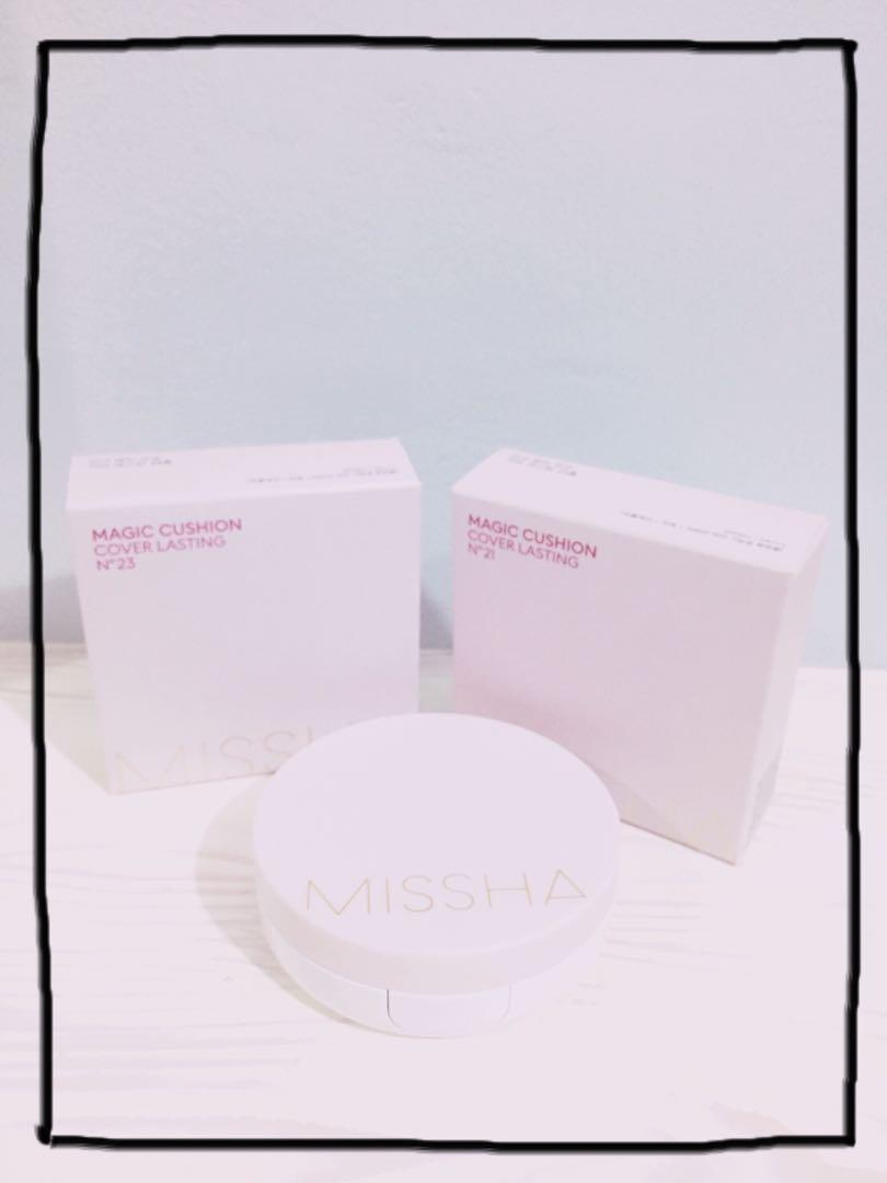 Missha Magic Cushion Cover Lasting Spf50 Pa On Carousell