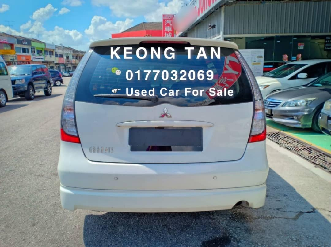 MITSUBISHI GRANDIS 2.4AT 2010TH🎉 OfferPrice Rm42,500 Only!!🎈Free 1-Year Warranty🎉Monthly Rm697 Only!!💲