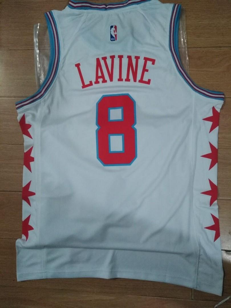 best authentic 0195b 9527d NBA Chicago Bulls Zach Lavine Swingman Jersey, Sports ...
