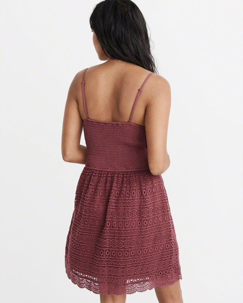 NFSATM Abercrombie & Fitch Lace Skater Dress