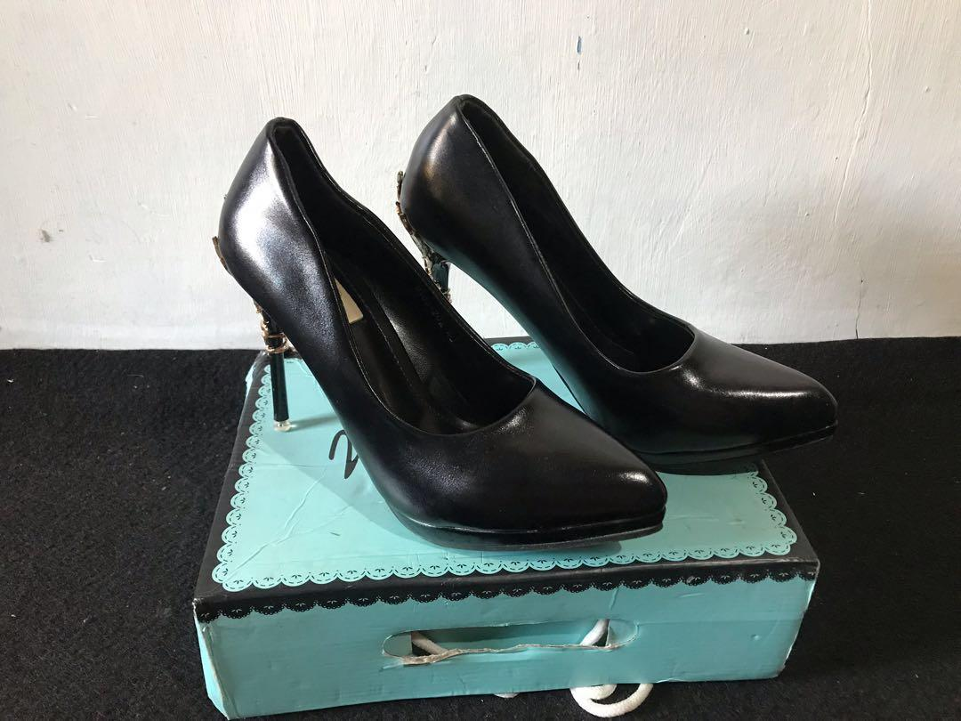 Nine west hills hitam ( like new )