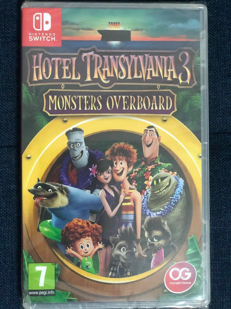 Nintendo Switch game - Hotel Transylvania 3