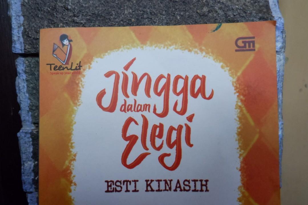 Novel Teenlit Jingga dalam Elegi (Esti Kinasih)