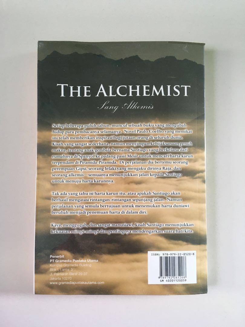 Novel Terjemahan the alchemist