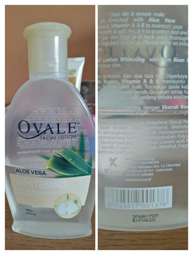Ovale Facial Lotion Aloe Vera