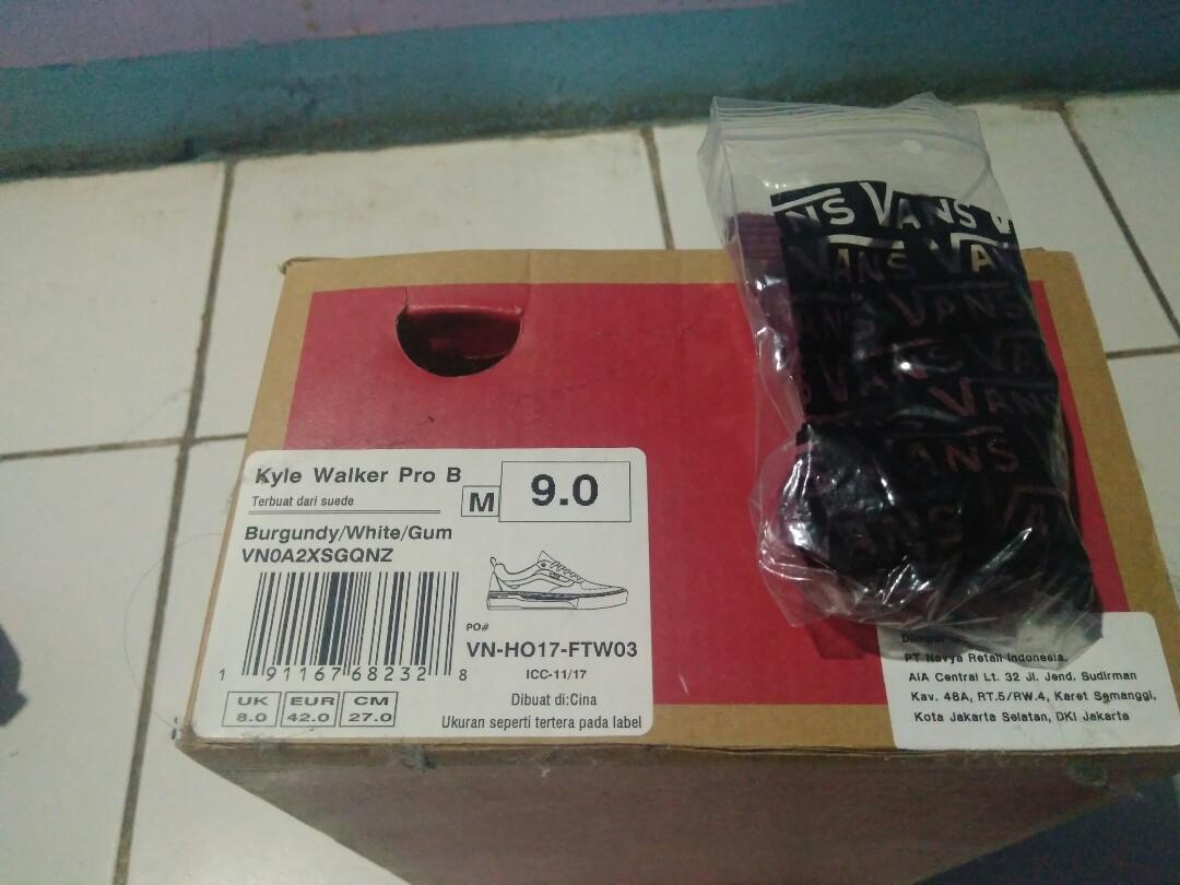 Sepatu Vans pro kyle walker . not oldskool authentic.sk8