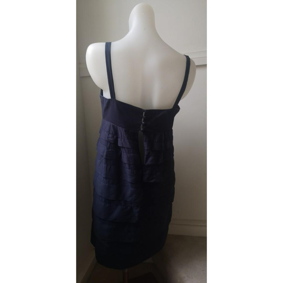 Size 10:French Connection navy dress MASSIVE WARDROBE CLEAN OUT