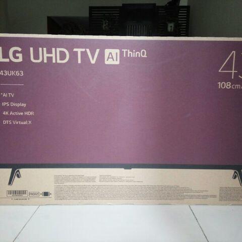 Smart TV LG UHD TV 43inch [43UK6300PTE] NEGO TIPIS!