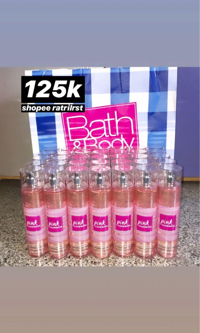 special price bath and body works body mist sale termurah pink cashmere sweet floral