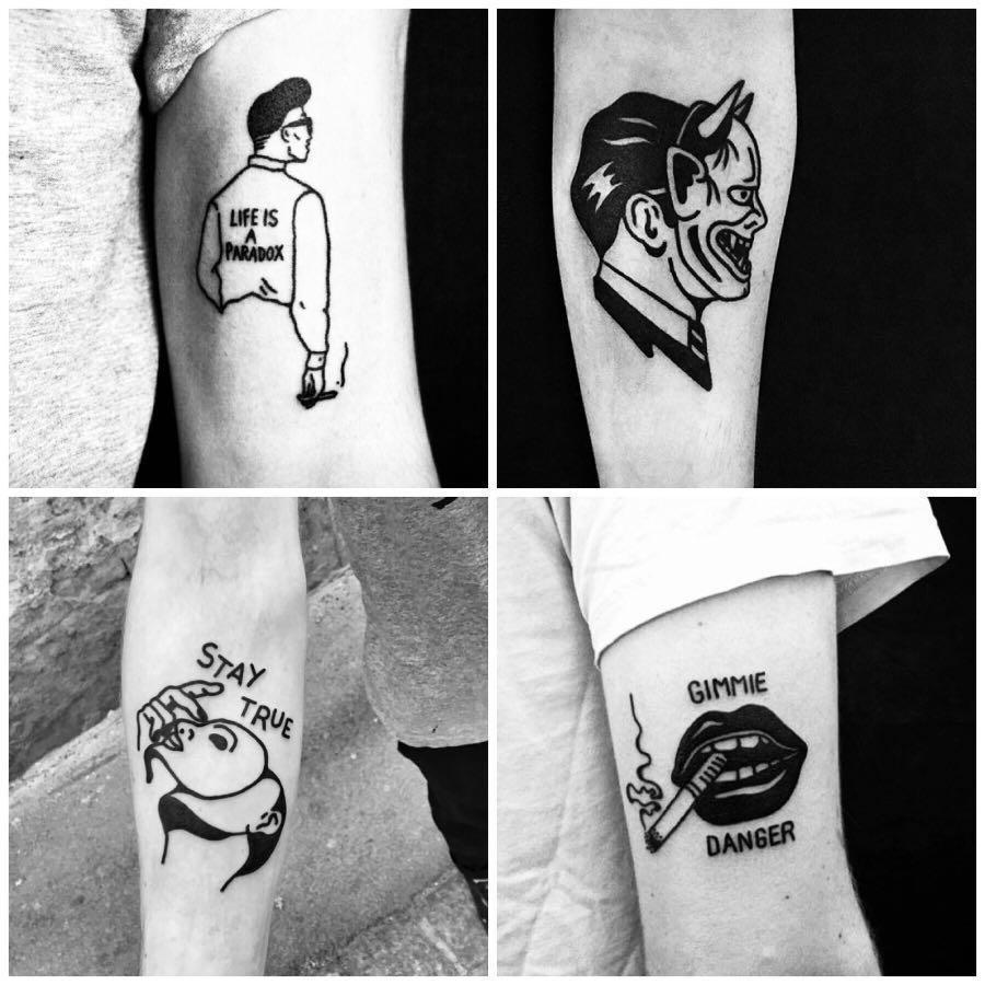 Tattoo Services - Line Art
