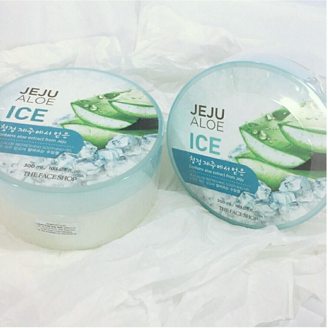The Face Shop - Jeju Aloe Ice