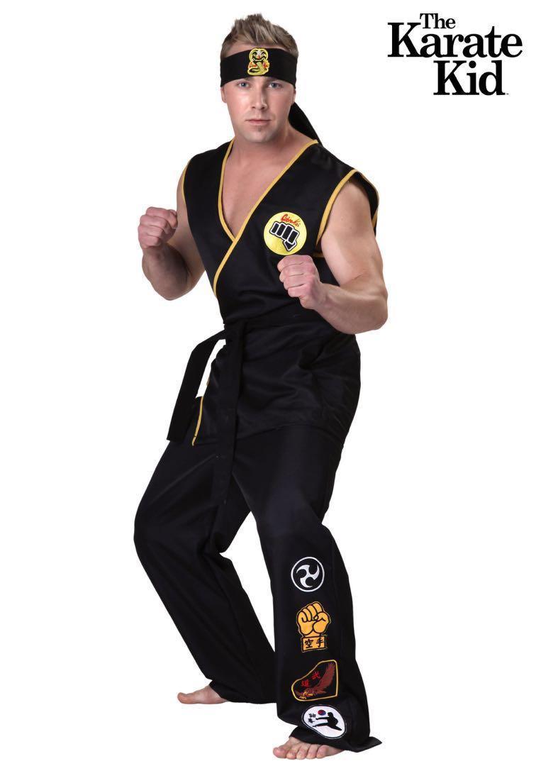 Karate Kid Halloween Costume.The Karate Kid Cobra Kai Halloween Costume On Carousell