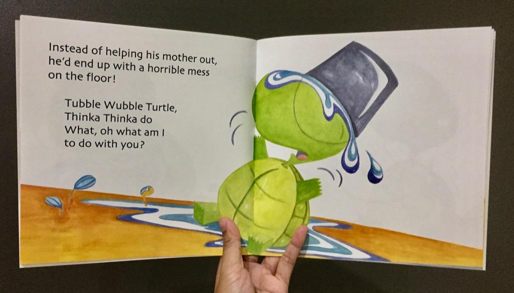 Tubble Wubble: The Clumsy Little Turtle | Tahanan Books | English | Children's Book
