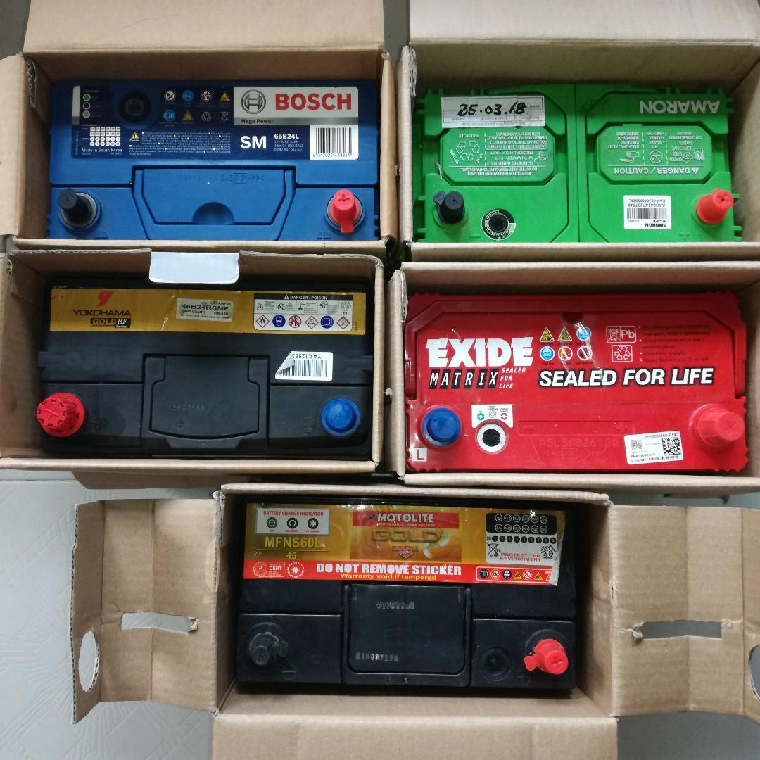Used Car Batteries For Sale >> Used Car Battery Car Accessories Accessories On Carousell
