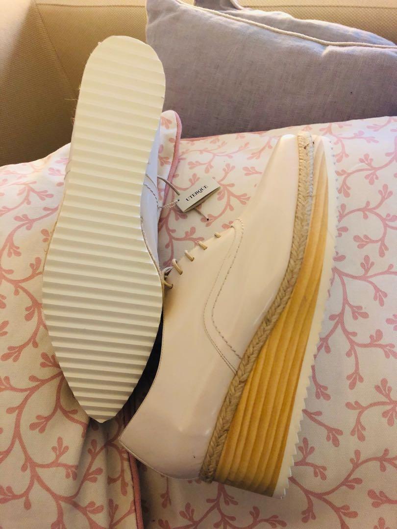 UTERQUE brand Spanish fashion shoes (unused/negotiable)