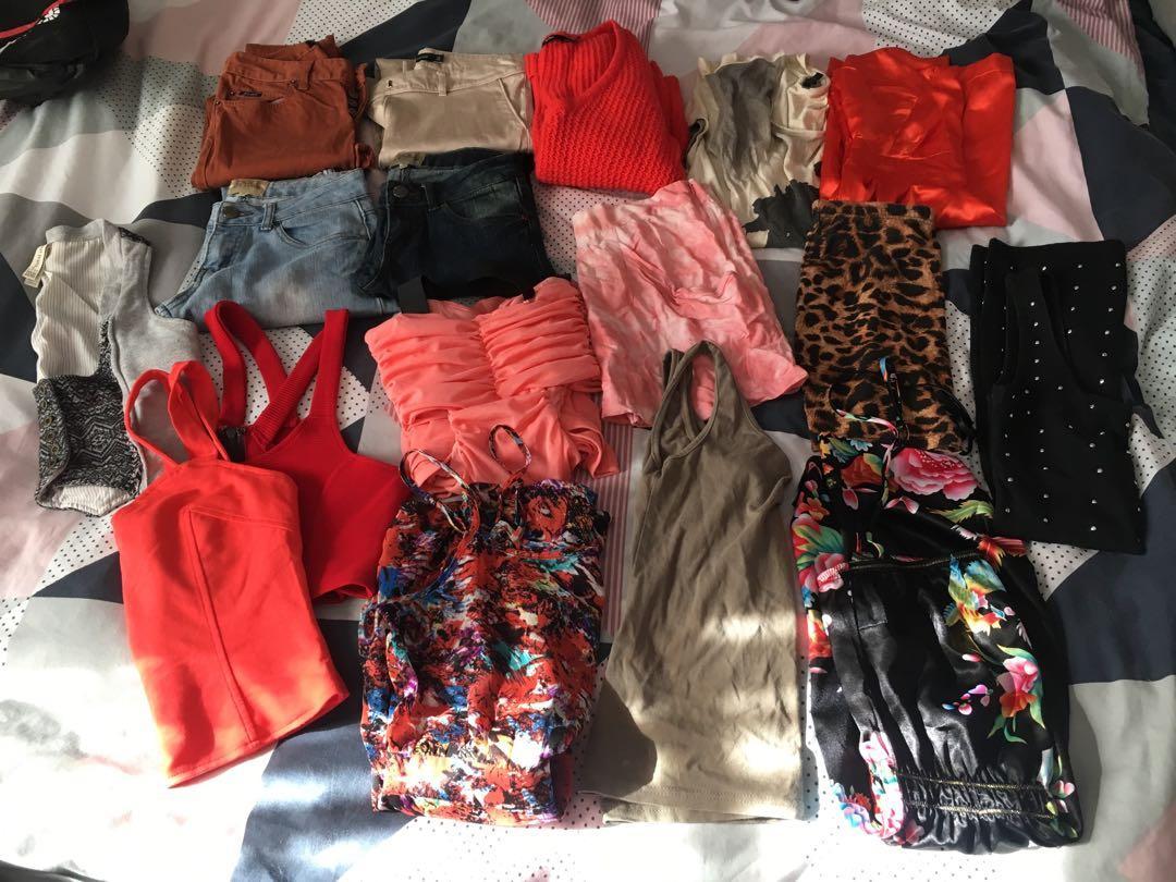 Women's clothing bundle - Bardot, sportsgirl plus more