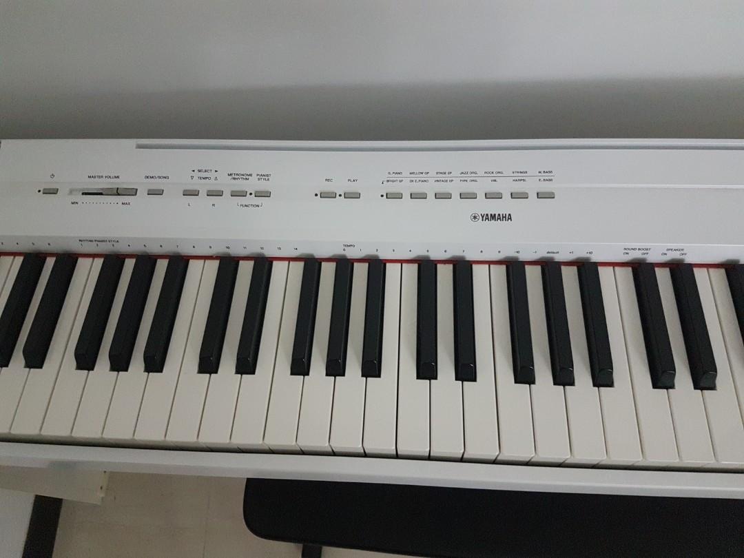 Yamaha Digital Piano P-115 with chair