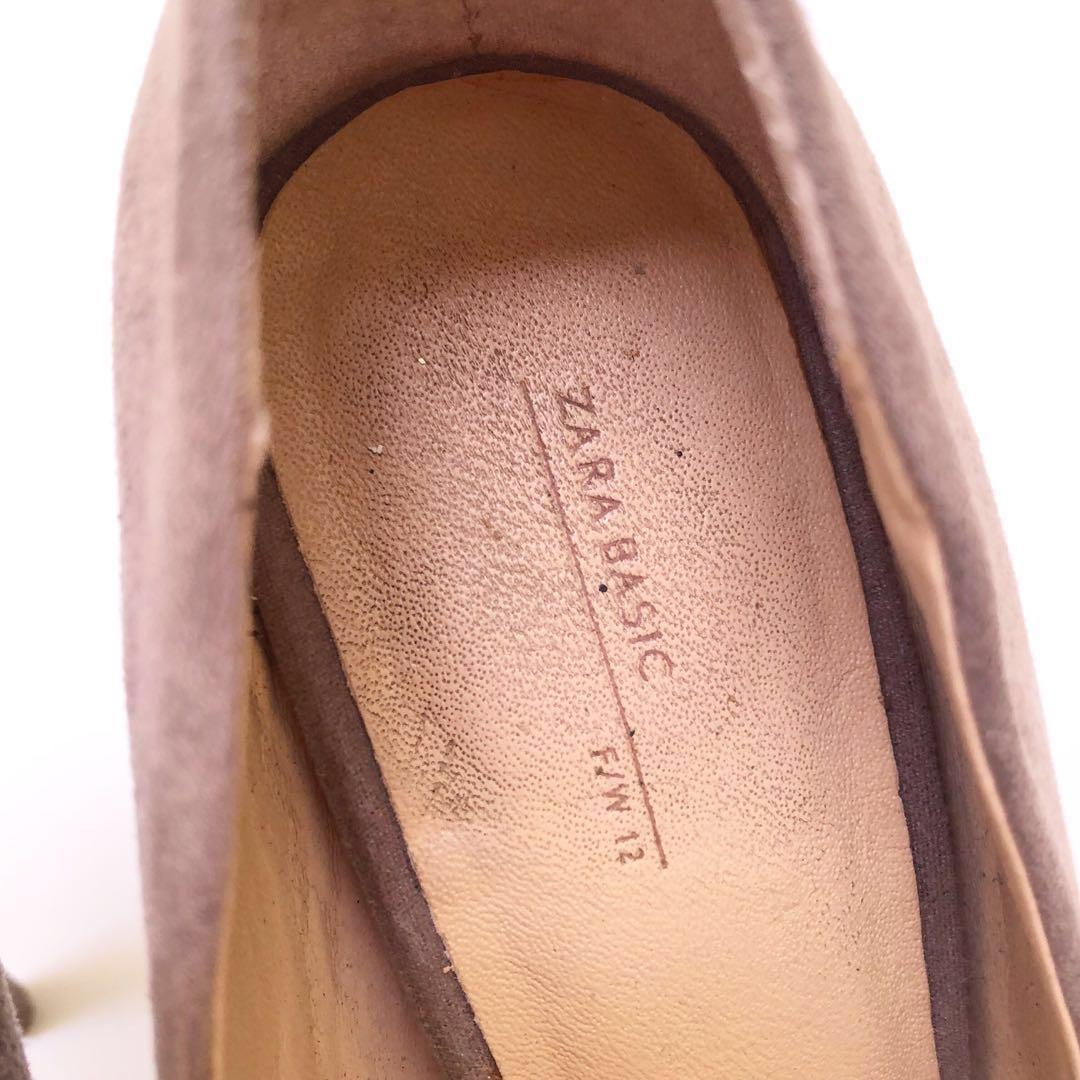 Zara Basic Nude Heels
