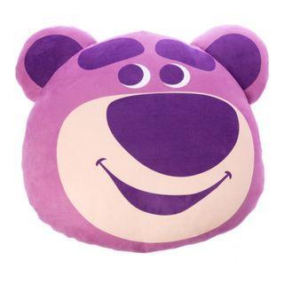 ✨預購 台灣限定✨DISNEY 迪士尼 玩具總動員 Toy Story 造型抱枕 熊抱哥 Lotso 勞蘇 抱枕