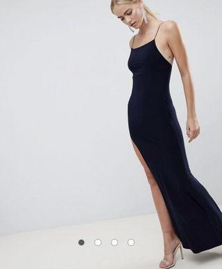 ASOS slinky maxi dress