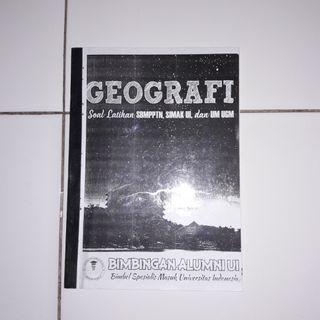 Buku sbmptn simak ui geografi