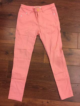 專櫃FFFF粉色內搭褲