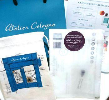 Atelier Cologne Maison de Parfum PARIS 2 Sets
