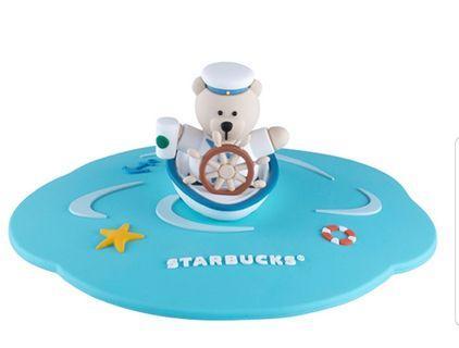 Starbucks Captain Bear Mug Lid