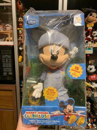 米奇Mickey 美版硬膠公仔