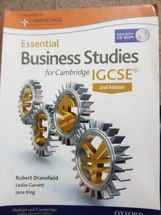 🚚 ESSENTIAL BUSINESS STUDIES Textbook