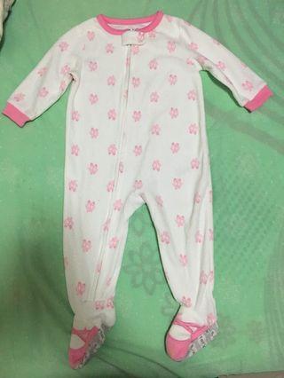Carter's 冬天嬰兒夾衣(12months)