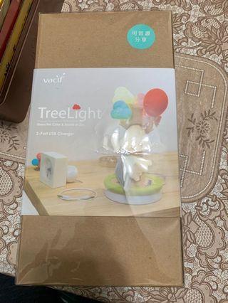 Vacii TreeLight Cloud 2埠USB充電座 夜燈 桌燈 夢想樹 充電  手機 禮物 情人節  生日