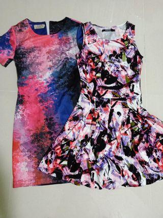 Galaxy and Floral Dress both @$12