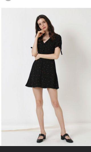 Lily mini floral dress