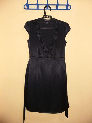 Black Dress V-neck