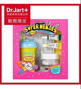韓國 Dr.Jart+ 超級英雄聯盟組(SUPER HEROS保養必備神器!)買一贈六