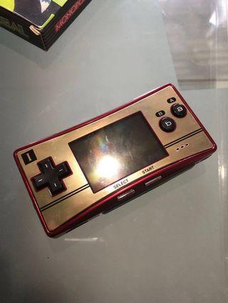 Nintendo Gameboy micro mario gba