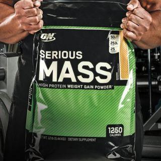 Optimum Nutrition Serious Mass Gainer 12lbs