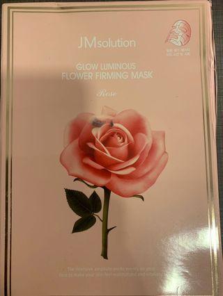 JM solution glow luminous flower firming mask