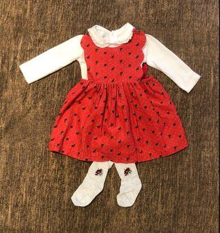 🚚 Mothercare Baby Girl Dress 3-6M