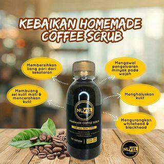Nuvel Homemade Coffee Scrub 50g